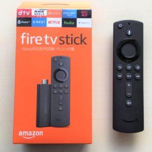 AmazonファイヤーTVスティックの月額料金と使い方