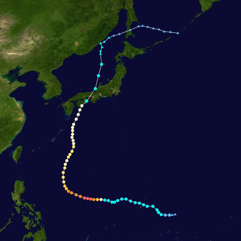 2014年の台風11号